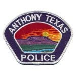 Anthony Police Department, TX