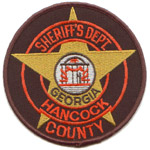Hancock County Sheriff's Office, GA