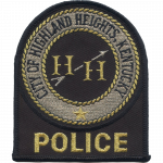 Highland Heights Police Department, KY