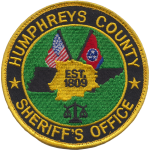 Humphreys County Sheriff's Office, TN