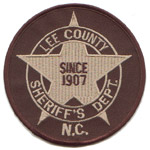 Lee County Sheriff's Office, NC