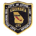 Lyons Police Department, GA
