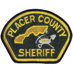 Placer County Sheriff's Department, CA