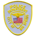 Big Spring Police Department, TX
