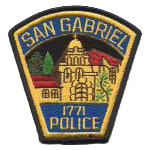 San Gabriel Police Department, CA