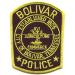 Bolivar Police Department, TN