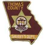 Thomas County Sheriff's Office, GA