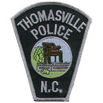 Thomasville Police Department, North Carolina