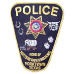 Yorktown Police Department, TX