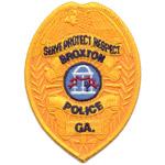 Broxton Police Department, GA