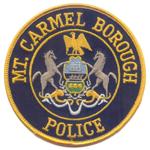 Mount Carmel Borough Police Department, PA