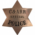 Chicago and Alton Railroad Police Department, Railroad Police