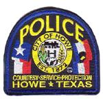 Howe Police Department, TX
