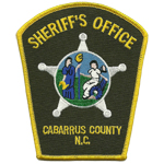 Cabarrus County Sheriff's Office, NC