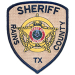 Rains County Sheriff's Department, TX