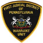 Pennsylvania First Judicial District Warrant Unit, PA