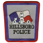 Hillsboro Police Department, TX
