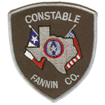 Fannin County Constable's Office - Precinct 1, TX