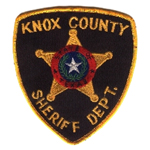 Knox County Sheriff's Department, TX