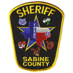 Sabine County Sheriff's Department, TX