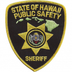 Hawaii Department of Public Safety - Sheriff Division, HI