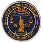 Spring City Police Department, TN