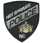 Hot Springs Police Department, NC