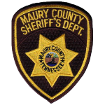 Maury County Sheriff's Department, Tennessee