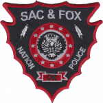 Sac and Fox Nation Police Department, TR