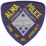 Alma Police Department, AR