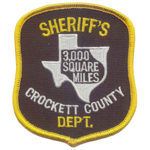 Crockett County Sheriff's Office, TX
