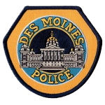 Des Moines Police Department, Iowa