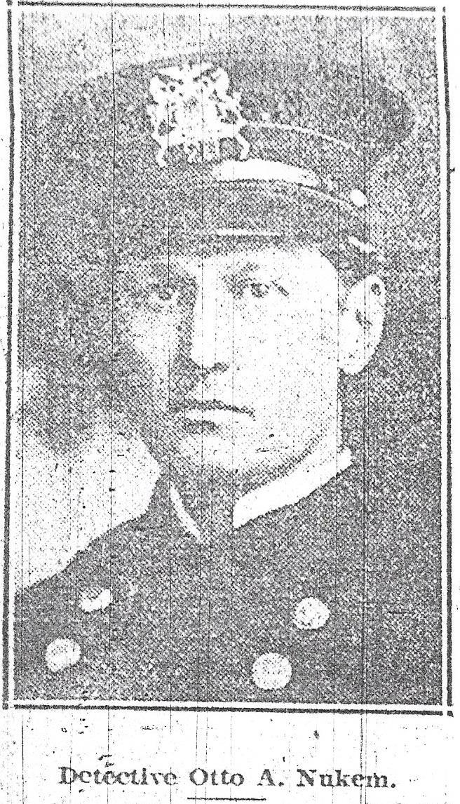 Detective Otto A. Nukem | Johnstown Police Department, Pennsylvania