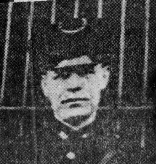Patrolman Richard Hugh O'Hara   Midland Borough Police Department, Pennsylvania