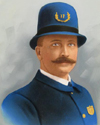 Mounted Policeman John Henry Pollock | Gloversville Police Department, New York