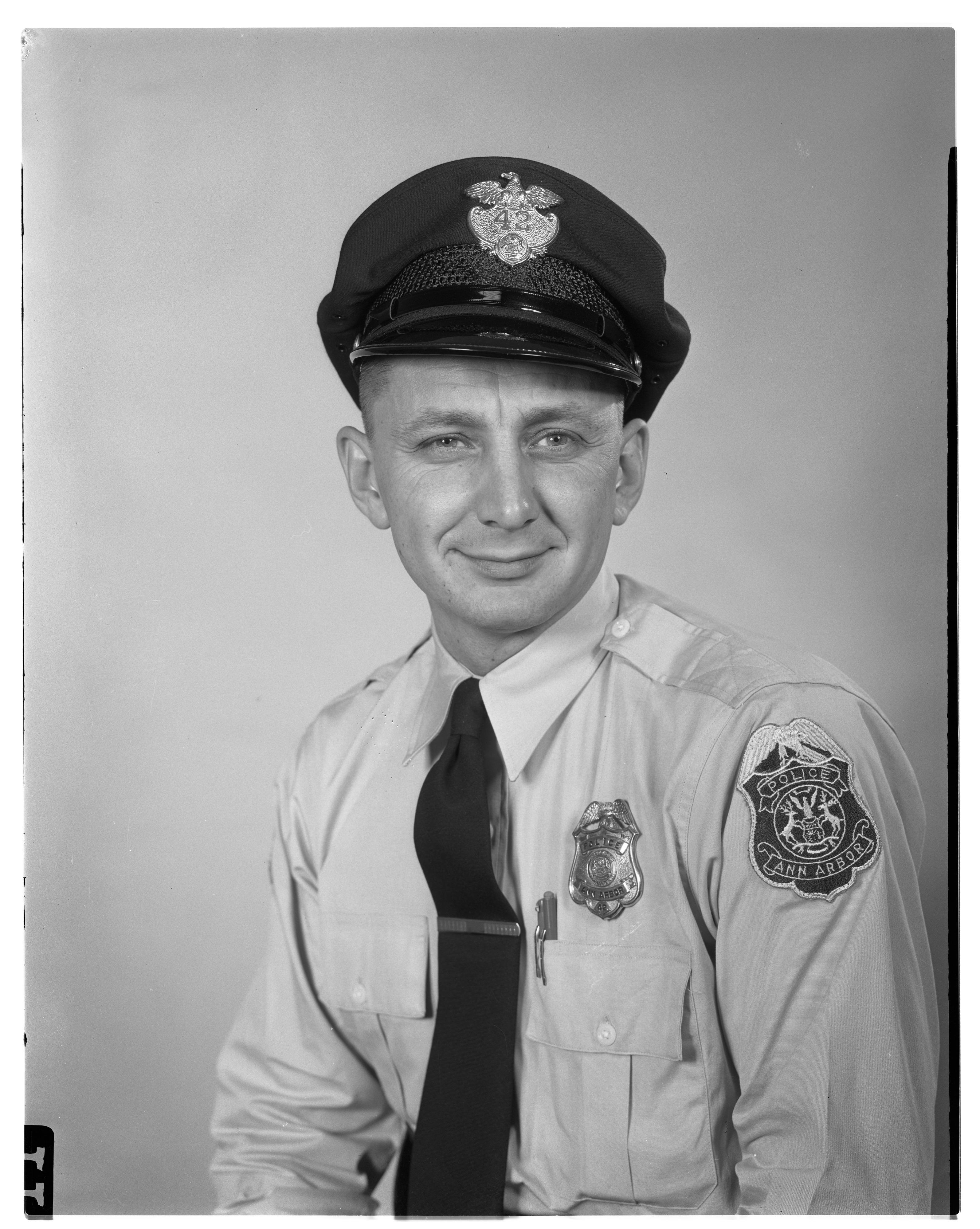 Patrolman Leonard William Alber   Ann Arbor Police Department, Michigan