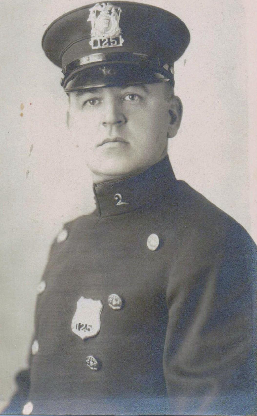 Patrolman Frank A. Quinlivan | Schenectady Police Department, New York