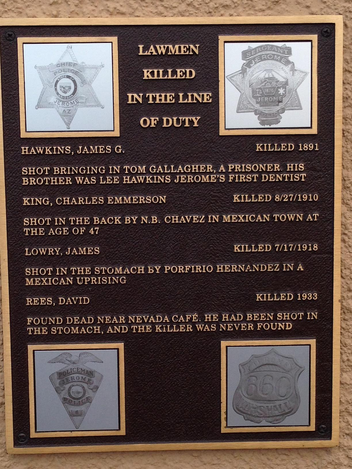 Policeman Dave Reese | Jerome Police Department, Arizona