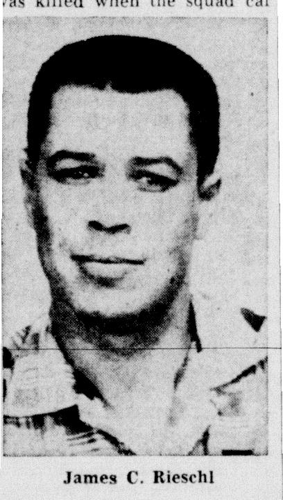 Deputy Sheriff James C. Rieschl | Kenosha County Sheriff's Department, Wisconsin