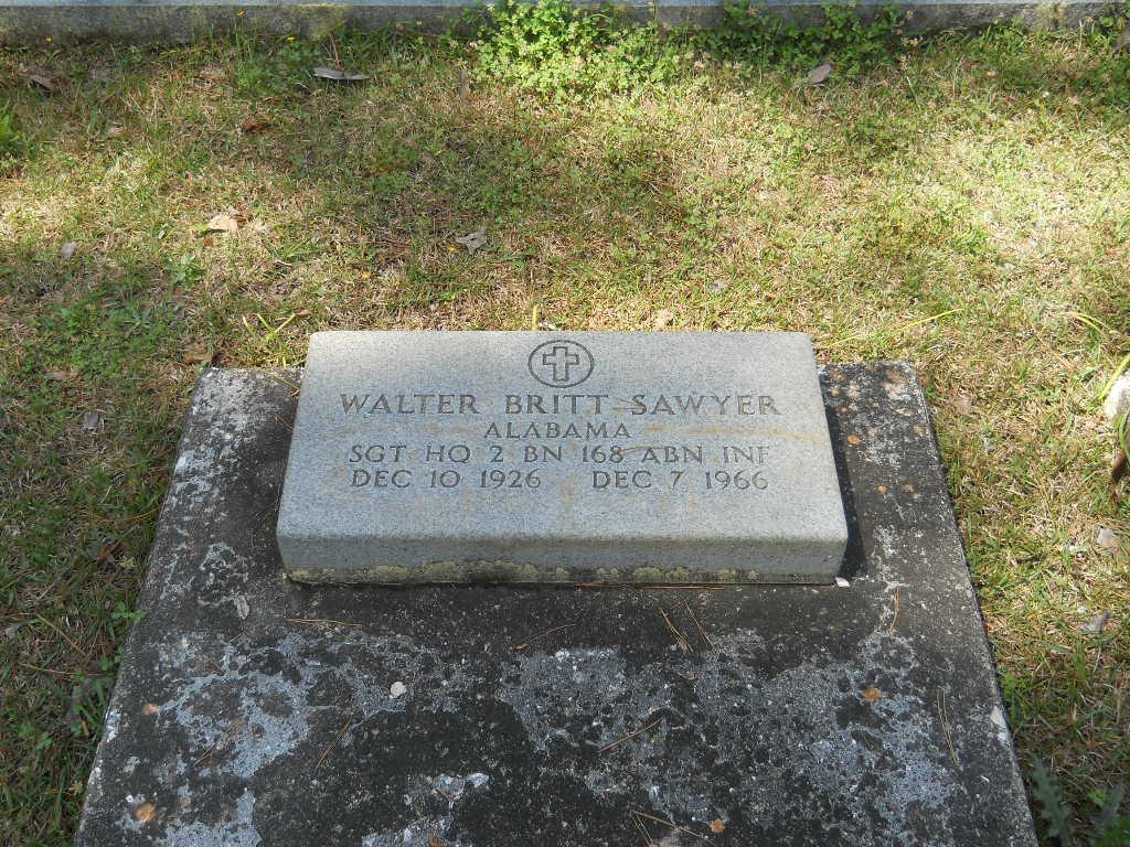 Marine Patrolman Walter Britt Sawyer | Alabama Department of Conservation and Natural Resources - Marine Police Division, Alabama