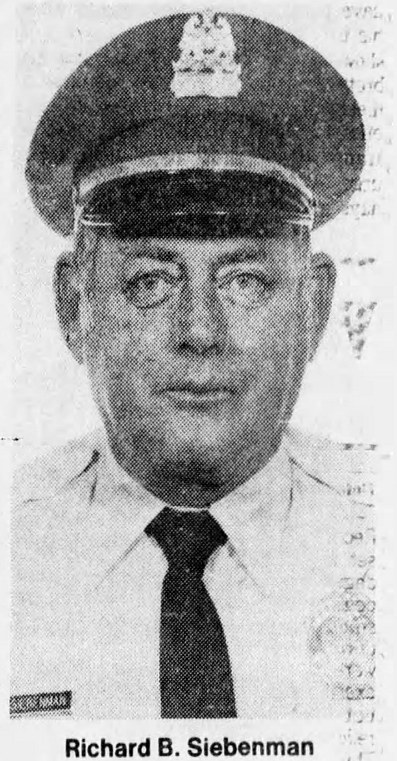 Sergeant Richard B. Siebenman   St. Louis Metropolitan Police Department, Missouri