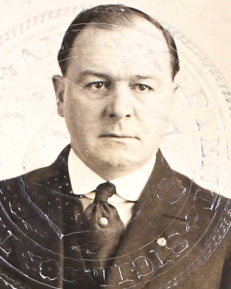 Federal Prohibition Agent Horatio J. Stetson | United States Department of the Treasury - Internal Revenue Service - Prohibition Unit, U.S. Government