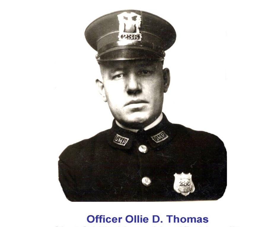 Patrolman Ollie D. Thomas | Des Moines Police Department, Iowa