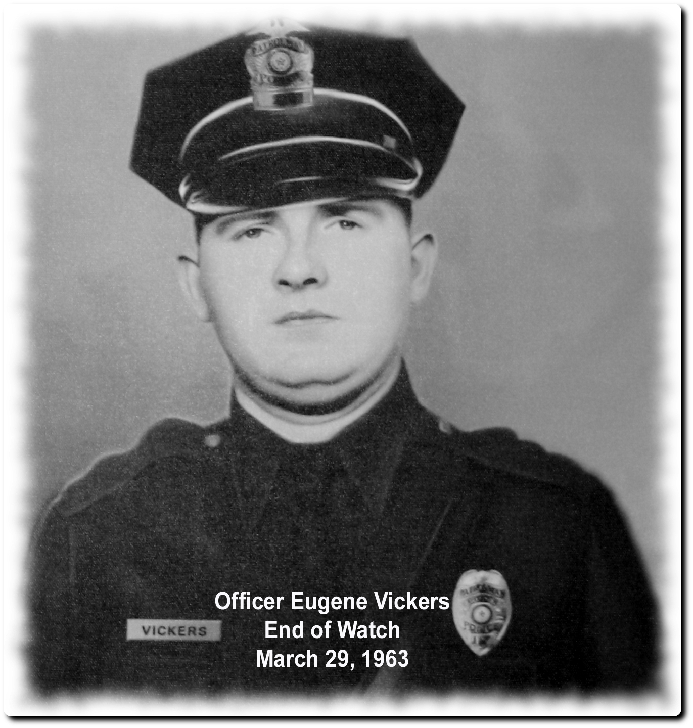 Patrolman Eugene Verdall Vickers | Tyler Police Department, Texas