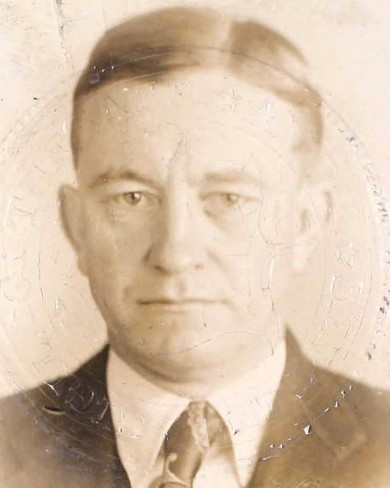 Federal Prohibition Agent Ernest Walter Walker | United States Department of the Treasury - Internal Revenue Service - Prohibition Unit, U.S. Government