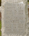 Private John Dudley White, Sr. | Texas Rangers, Texas