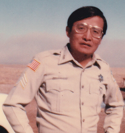 Sergeant Loren Whitehat | Navajo Division of Public Safety, Tribal Police