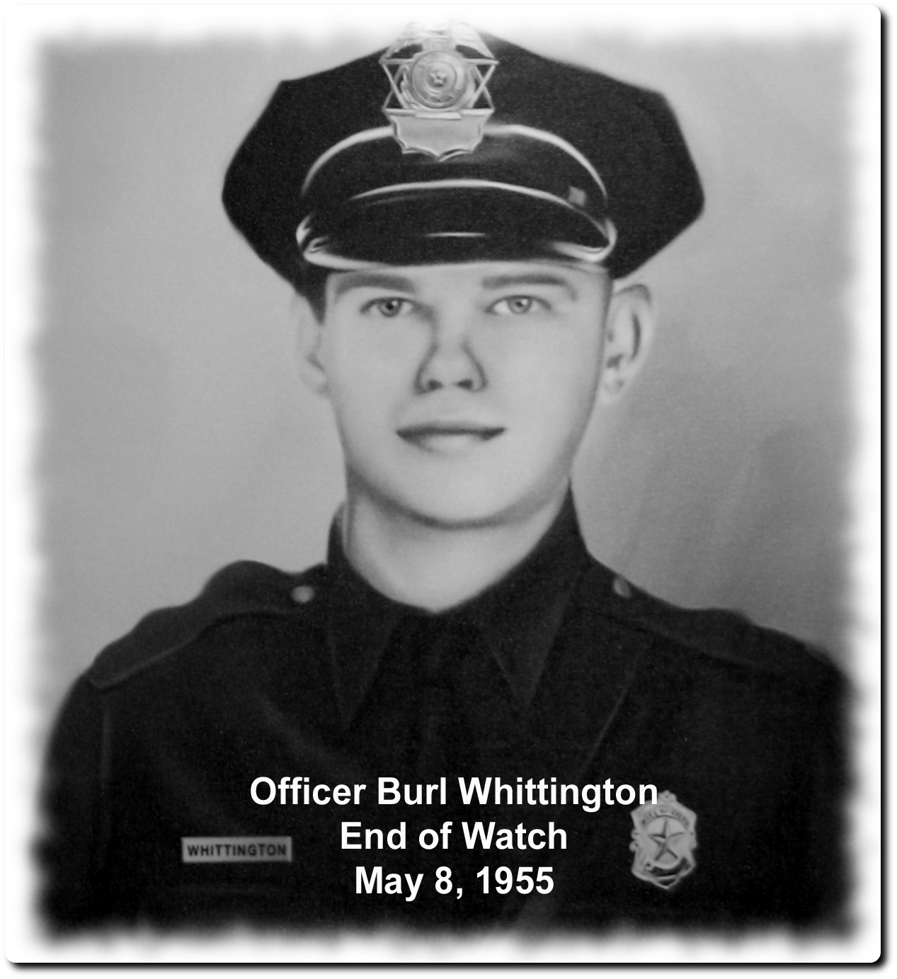Patrolman Burl Whittington | Tyler Police Department, Texas