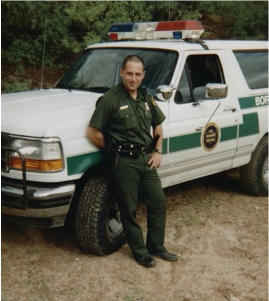 Border Patrol Agent Alexander Sanderlieb Kirpnick | United States Department of Justice - Immigration and Naturalization Service - United States Border Patrol, U.S. Government