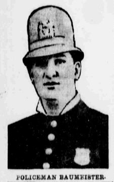 Patrolman William Baumeister | New York City Police Department, New York